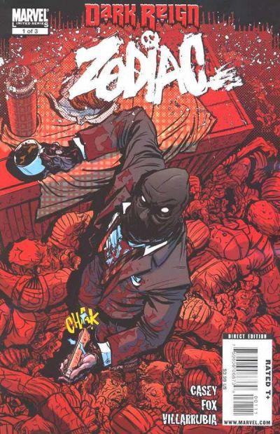 Cover for Dark Reign: Zodiac (Marvel, 2009 series) #1