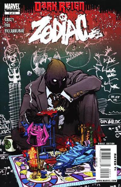 Cover for Dark Reign: Zodiac (Marvel, 2009 series) #2