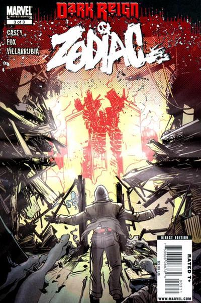 Cover for Dark Reign: Zodiac (Marvel, 2009 series) #3