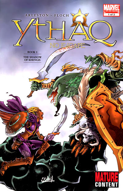 Cover for Ythaq: No Escape (Marvel, 2009 series) #1 [Variant Edition]
