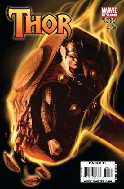Cover for Thor (Marvel, 2007 series) #602