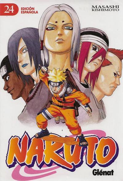 Cover for Naruto (Ediciones Glénat, 2002 series) #24