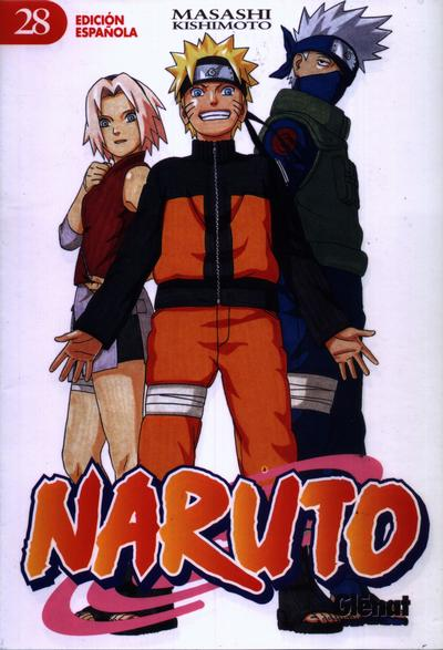 Cover for Naruto (Ediciones Glénat, 2002 series) #28