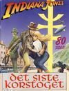 Cover for Indiana Jones, Det siste korstoget (Semic, 1989 series)