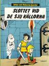 Cover for Johan och Pellevins äventyr (Carlsen/if [SE], 1976 series) #6 - Slottet vid de sju källorna