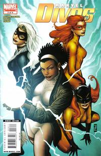 Cover Thumbnail for Marvel Divas (Marvel, 2009 series) #3