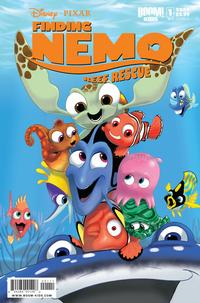Cover Thumbnail for Finding Nemo: Reef Rescue (Boom! Studios, 2009 series) #1 [Cover A]