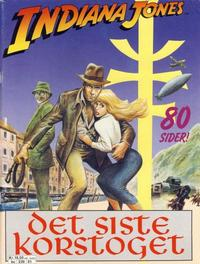 Cover Thumbnail for Indiana Jones, Det siste korstoget (Semic, 1989 series)
