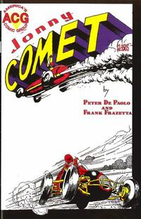 Cover for Johnny Comet (Avalon Communications, 1999 series) #1