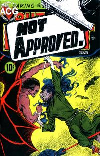 Cover Thumbnail for Not Approved Horror (Avalon Communications, 1998 series) #1