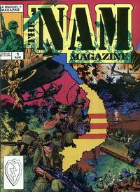 Cover Thumbnail for The 'Nam Magazine (Marvel, 1988 series) #1 [Direct]