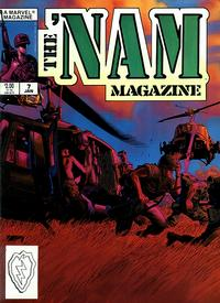 Cover Thumbnail for The 'Nam Magazine (Marvel, 1988 series) #7 [Direct]