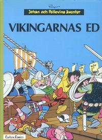 Cover Thumbnail for Johan och Pellevins äventyr (Carlsen/if [SE], 1976 series) #9 - Vikingarnas ed
