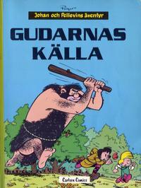 Cover Thumbnail for Johan och Pellevins äventyr (Carlsen/if [SE], 1976 series) #10 - Gudarnas källa
