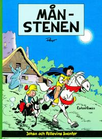 Cover Thumbnail for Johan och Pellevins äventyr (Carlsen/if [SE], 1976 series) #11 - Månstenen