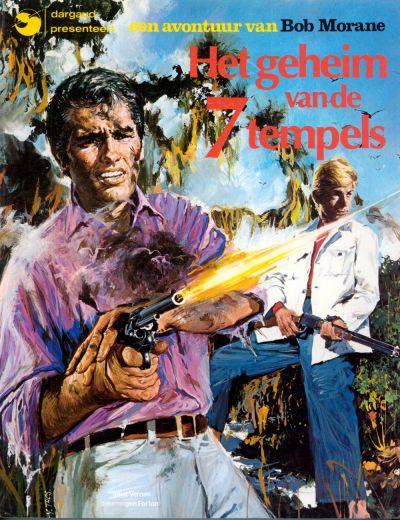 Cover for Bob Morane (Oberon; Dargaud Benelux, 1976 series) #2 - Het geheim van de 7 tempels