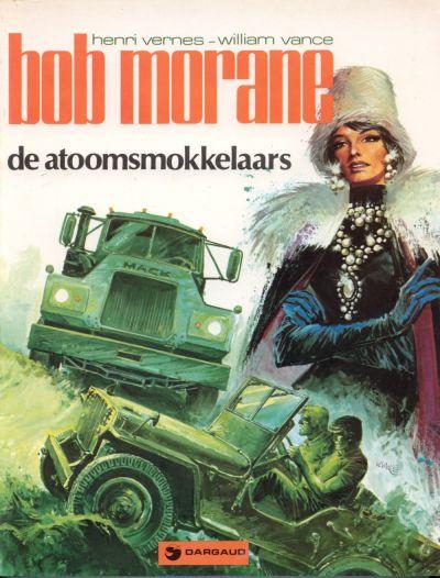 Cover for Bob Morane (Oberon; Dargaud Benelux, 1976 series) #6 - De atoomsmokkelaars
