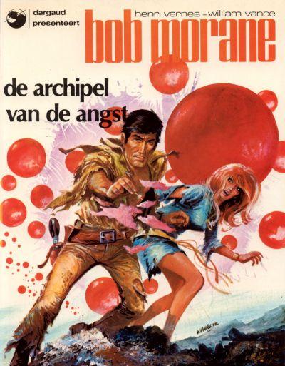 Cover for Bob Morane (Oberon; Dargaud Benelux, 1976 series) #8 - De archipel van de angst