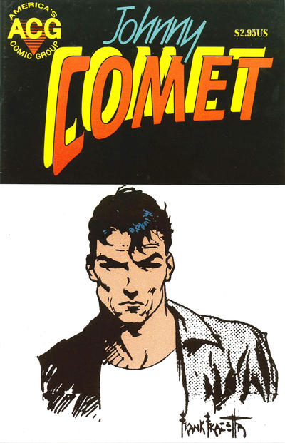 Cover for Johnny Comet (Avalon Communications, 1999 series) #4