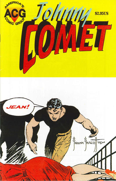 Cover for Johnny Comet (Avalon Communications, 1999 series) #5