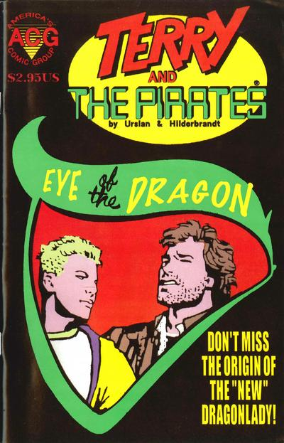 Cover for The New Adventures of Terry & the Pirates (Avalon Communications, 1999 series) #2