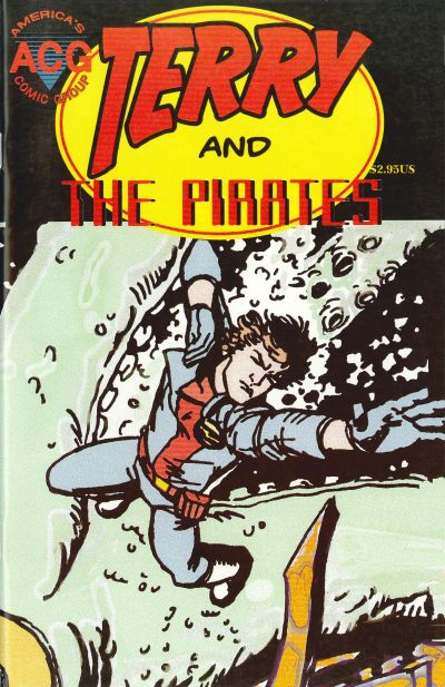 Cover for The New Adventures of Terry & the Pirates (Avalon Communications, 1999 series) #5