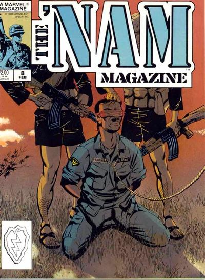 Cover for The 'Nam Magazine (Marvel, 1988 series) #8 [Direct]