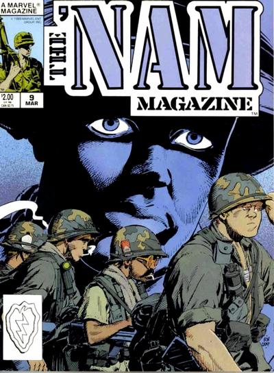 Cover for The 'Nam Magazine (Marvel, 1988 series) #9 [Newsstand]