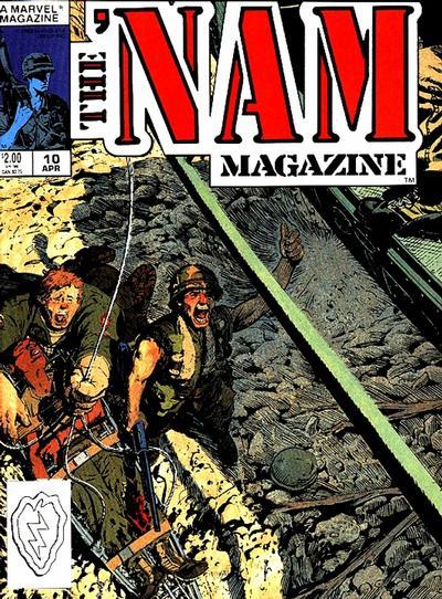 Cover for The 'Nam Magazine (Marvel, 1988 series) #10