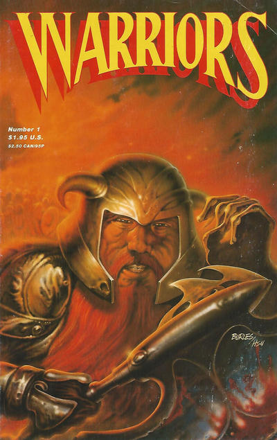 Cover for Warriors (Adventure Publications, 1987 series) #1