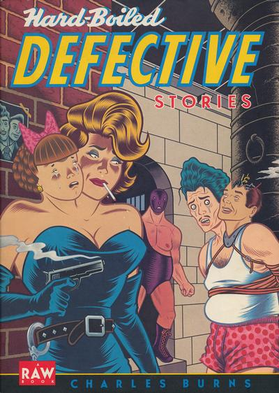 Cover for Hard-Boiled Defective Stories (Pantheon, 1988 series)
