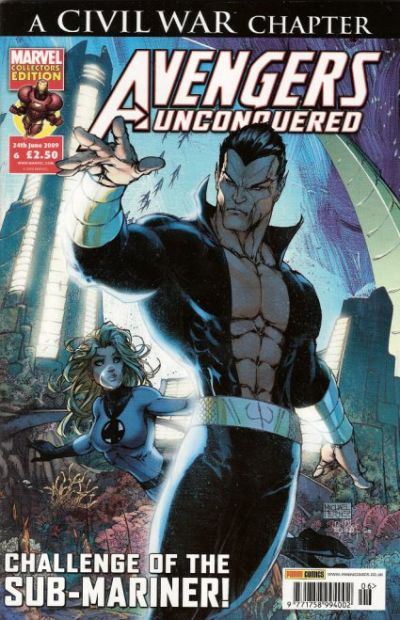 Cover for Avengers Unconquered (Panini UK, 2009 series) #6