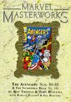 Cover for Marvel Masterworks: The Avengers (Marvel, 2003 series) #9 (117) [Limited Variant Edition]