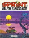 Cover for Sprint [Sprint & Co.] (Interpresse, 1977 series) #20 - Amuletten fra Nikokolokoba