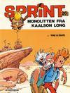 Cover for Sprint [Sprint & Co.] (Interpresse, 1977 series) #26 - Monolitten fra Kaalson Long