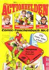 Cover for Die Actionhelden (Condor, 1978 series) #4