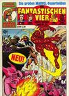Cover for Die Fantastischen Vier (Condor, 1979 series) #24