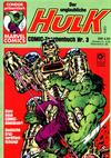 Cover for Der unglaubliche Hulk (Condor, 1980 series) #3