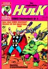Cover for Der unglaubliche Hulk (Condor, 1980 series) #4