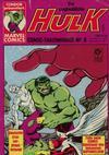 Cover for Der unglaubliche Hulk (Condor, 1980 series) #6