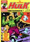 Cover for Der unglaubliche Hulk (Condor, 1980 series) #7