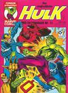 Cover for Der unglaubliche Hulk (Condor, 1980 series) #11