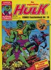 Cover for Der unglaubliche Hulk (Condor, 1980 series) #16