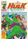 Cover for Der unglaubliche Hulk (Condor, 1980 series) #20