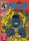 Cover for Der unglaubliche Hulk (Condor, 1980 series) #30