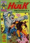 Cover for Der unglaubliche Hulk (Condor, 1980 series) #35