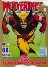 Cover for Marvel Comic Exklusiv (Condor, 1987 series) #17 - Wolverine - Teufelstango auf Hawaii