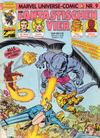 Cover for Marvel Universe Comic (Condor, 1991 series) #9