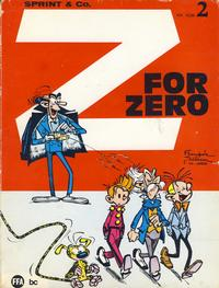 Cover Thumbnail for Sprint & Co. (Forlaget For Alle A/S, 1974 series) #2 - Z for Zero