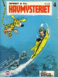 Cover for Sprint & Co. (Forlaget For Alle A/S, 1974 series) #4 - Havmysteriet